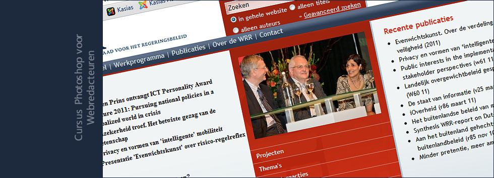 Cursus Photoshop voor Webredacteuren